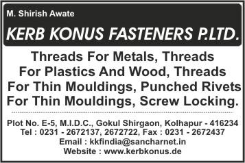 Forex fasteners (p) ltd