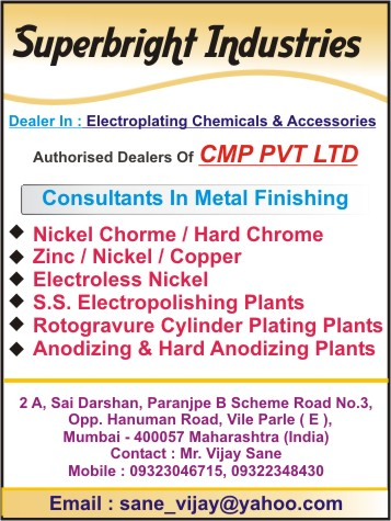 Plating Chemical, Manufacturers Of Plating Chemical, Plating